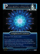 Primordial Eye Of Eternity - Custom Card