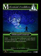 Marksman's Goddess - Custom Card