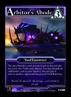 Arbitor's Abode - Custom Card