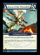 Askara Of The Wounded - Custom Card