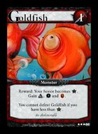 Goldfish - Custom Card