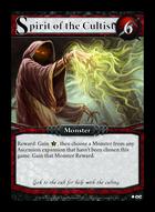 Spirit Of The Cultist - Custom Card