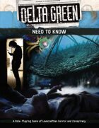 Delta Green: Need to Know