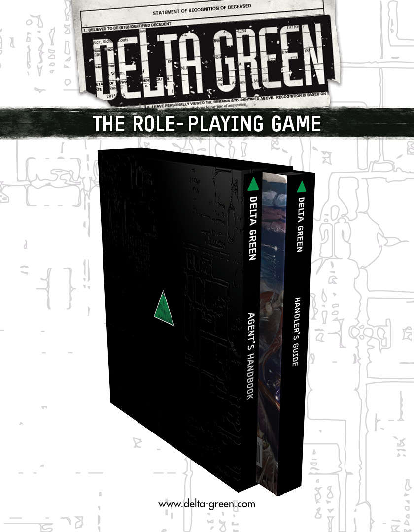 Delta Green The Role Playing Game Arc Dream Publishing Rp Part Number I Don T Know If They Are Available From But