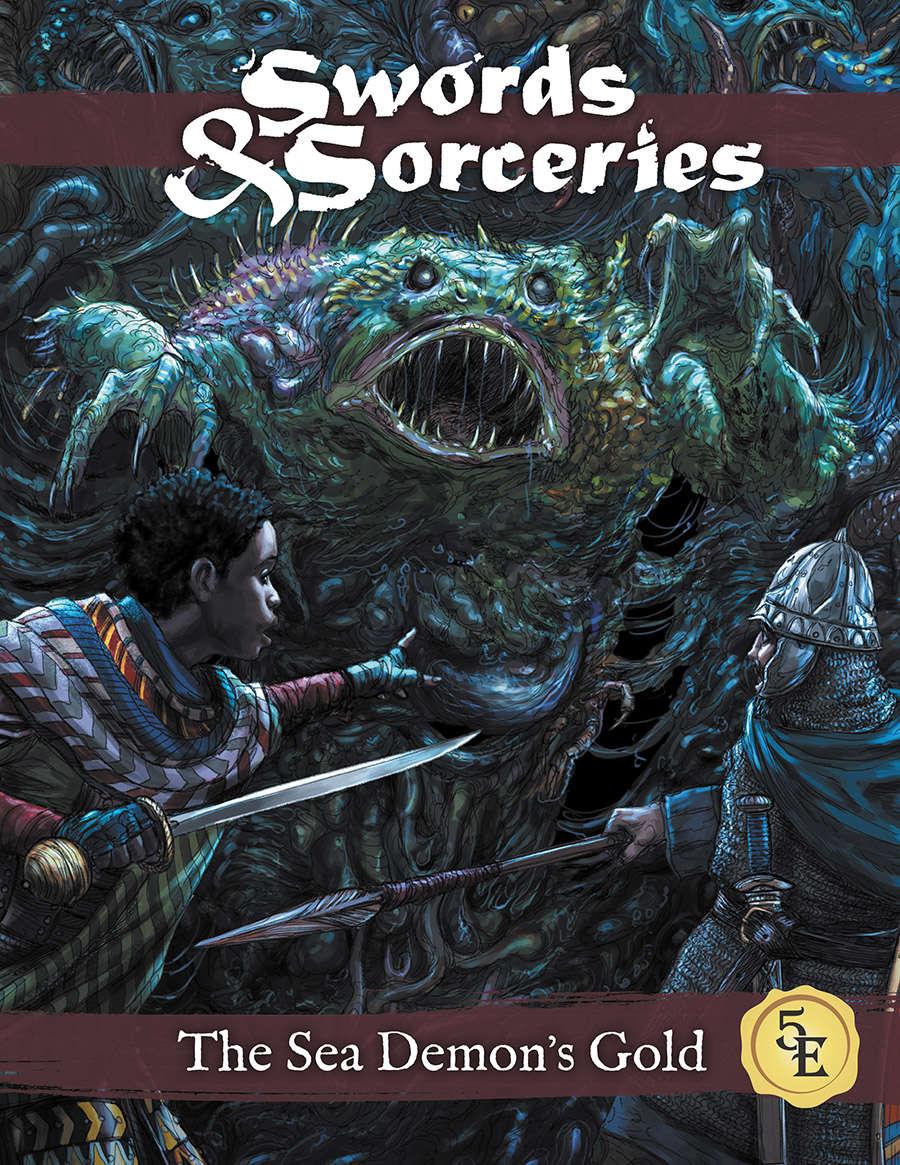 The Sea Demon's Gold (5e) - Arc Dream Publishing | Swords
