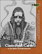 Class Spell Cards III: Druid