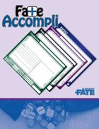 Fate Accompli - Fillable Fate Notecards