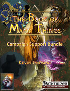 The Book of Many Things: Campaign Support [BUNDLE]