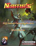 Name's Games 2019 Exclusive Collection