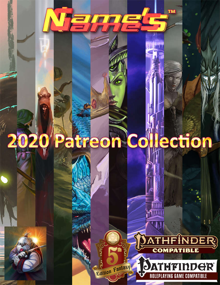 2020 Name's Games Collection