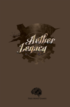 Aether Legacy Core Rule Book