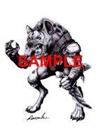 Stock Art: Gnoll - Humanoid hyena