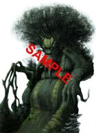 Image- Stock Art- Stock Illustration- Ancient Treant - defender of forests, shepherd of trees