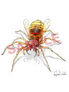 Stock Art: Giant Spider_Wasp
