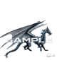 Stock Art: Blue Water Dragon