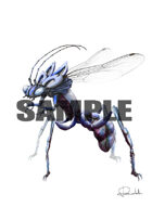 Image- Stock Art- Stock Illustration- Monster insect