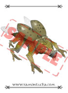 Image - Stock Art - Stock Illustration - Monster insect - Reptilian beetle