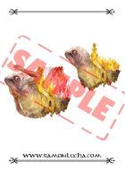 Image - Stock Art - Stock Illustration - Monster -monsterfish- Island