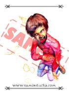 Image - Stock Art - Stock Illustration -Zombie child