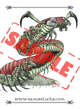 Image - Stock Art - Grayscale - Stock Illustration - rpg - Centipedes - Mutant - Monster