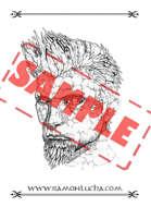 Image - Stock Art - Stock Illustration - character - Stone face - golem - stone golem