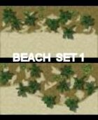 VN Beach Maps Set 1 Vietnam Serie for all Modern Skirmish Games Rules