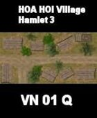 VN Hamlet 3 Map  VIETNAM Serie  for all Modern Skirmish Games Rules