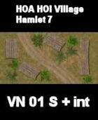 VN Hamlet 7 Maps  VIETNAM Serie  for all Modern Skirmish Games Rules