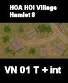 VN Hamlet 8 Maps  VIETNAM Serie  for all Modern Skirmish Games Rules