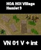 VN Hamlet 9 Maps  VIETNAM Serie  for all Modern Skirmish Games Rules