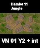 VN Hamlet 11 / Jungle Map  VIETNAM Serie  for all Modern Skirmish Games Rules