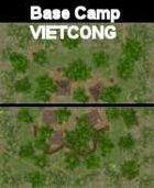 VN Base Camp Vietcong Maps  VIETNAM Serie  for all Modern Skirmish Games Rules