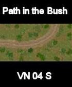 VN Bush/Path Map # 5 Vietnam Serie for all Modern Skirmish Games Rules