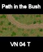 VN Bush/Path Map # 6 Vietnam Serie for all Modern Skirmish Games Rules