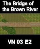 The Brown River Map 9 VIETNAM Serie  for all Modern Skirmish Games Rules
