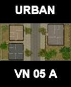 URBAN #1 Map Vietnam Series for all Modern Skirmish Games Rules