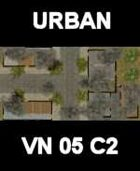 URBAN #6 Map Vietnam Series for all Modern Skirmish Games Rules