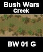 Creek Map#1 BUSH WARS Series for all Modern Skirmish Games Rules