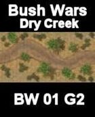 Dry Creek Map#1 BUSH WARS Series for all Modern Skirmish Games Rules