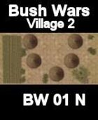 Village Map#2 BUSH WARS Series for all Modern Skirmish Games Rules