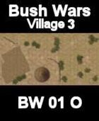 Village Map#3 BUSH WARS Series for all Modern Skirmish Games Rules