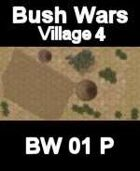 Village Map#4 BUSH WARS Series for all Modern Skirmish Games Rules