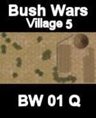 Village Map#5 BUSH WARS Series for all Modern Skirmish Games Rules
