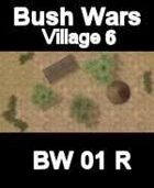Village Map#6 BUSH WARS Series for all Modern Skirmish Games Rules