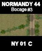 Bocage/Track Map #3 NORMANDY 44 Series for all WW2 Skirmish Games Rules