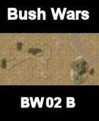 Bush / Track Map#2 BUSH WARS Series for all Modern Skirmish Games Rules