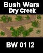 Dry Creek Map#3 BUSH WARS Series for all Modern Skirmish Games Rules