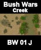 Creek Map#4 BUSH WARS Series for all Modern Skirmish Games Rules