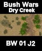 Dry Creek Map#4 BUSH WARS Series for all Modern Skirmish Games Rules