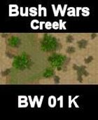 Creek Map#5 BUSH WARS Series for all Modern Skirmish Games Rules